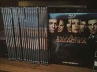 Battlestar Galactica the complete season, 1, 2, 2.5, 3,