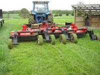 Bush Hog 3615 batwing mower, 15ft wide, this is the
