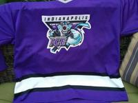 Bauer brand hockey jersey from the old hometown team,