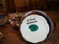 17 PC Tea Set. Made in Bavaria, Germany. 22 Karat