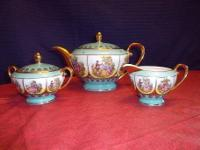 THIS LOVELY TEA SET IS FROM BAVARIA GERMANY, AND IS IN