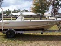 2005 Sea Pro SV1700CC Bay Boat with stainless package,