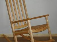 Designed and handcrafted by a regional woodworker.  Bay