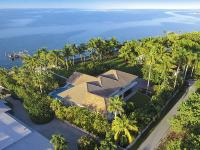 This gated estate home offers a unique Island life