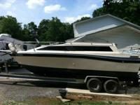 1986 bayliner 24ft Chevy 305 motor runs great new