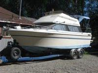 26' Bayliner Cabin Cruiser for 17,500 OBO. Top