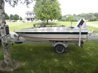 Bayliner Capri> 14'> 50 hp engine> runs great> trailer