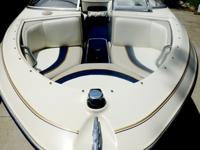 Bayliner Ski boat, Capri 1750 model with open bow.