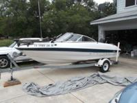 BAYLINER WATERCRAFT IS LAKE READY. New flooring,