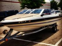 I am selling my 1989 open bow Bayliner Capri. New Ford