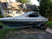 1990 20ft Bayliner capri needs throttle controls,