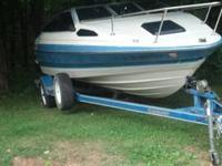 1988 Bayliner Cuddy Cabin 18'6'' 3.0 4 cylinder saves