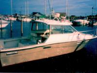 28' Bayliner Trophy 2860 hardtop boat w/ twin inboards: