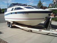 -1985 Bayliner 2450 Ciera Sunbridge, 24 ft. long x 8ft.