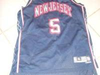 size large mens BB jersey #5 Kidd New Jersey $30 call