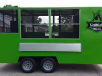 I am offering my Barbecue concession trailer. it is
