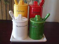 FAITHFULLY RENDERED FROM CLASSIC CONDIMENT CONTAINERS,