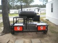 just finished a custon 250 gallon bbq pit with a 2'x2'