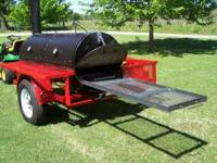 CHARCOAL WOOD SMOKER NEW $2700.00  Location: FARMINGTN
