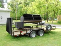 BBQ Smoker and trailer....used only a few times (was