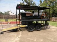 PRICE REDUCED!!!! ITS COOK OFF TIME!!!! Trailered BBQ