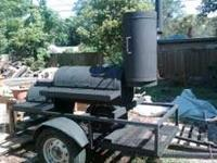 Great deal on a great smoker, has spare tire and a 2""