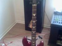 For sale,BC Rich bass, mint, hard shell case, no trades