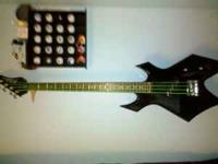 I have for sale a 4-string BC Rich Warlock. This guitar