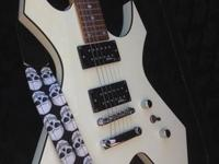 For sale white bc rich warlock perfect condition with