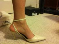 Bcbg latte strappy pointed toe  $30  size 9.5