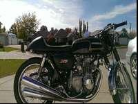 I am selling my Benjie's Cafe Racer seat. I absolutely