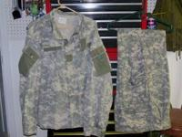 I have Military issue BDU Camo(Woodland) Field Jackets