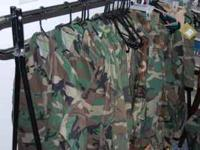 The Veterans Museum sells new BDU's Pants and shirts.
