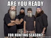 Be prepared for the approaching hunting period and get