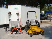 BE YOUR OWN BOSS COMPLETE LAWN EQUIPMENT PACKAGE DEAL