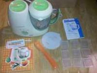 Used Beaba Babycook babyfood maker. Comes with