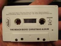 Beach Boys' Christmas Album Cassette Capitol Records. I