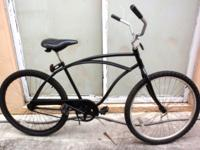 "BEACH CRUISER, 26"", ""HUFFY NICE VIBRATION"". Coaster"