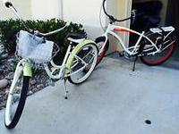 Selling 2 Simple by Giant 3-speed beach cruisers! Like