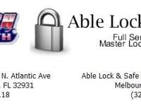 Beach Locksmith / Able Lock & Safe Place is a full