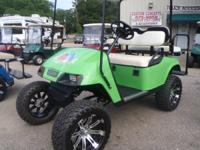 BEACH READY EZGO GOLF CART 2011 EZGO GOLF CART WITH A