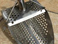 metal detector sand scoop stainless steel sand scoop