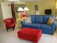 Beachside Two condo description This colorful and