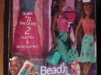 Bead 'n Beauty Christie Doll (Friend of Barbie) ---