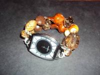 These are hand made beaded watches you can choose many