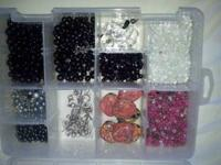 I have some bead that i no longer want. The 4 tubs with