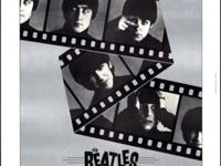 Beatles original movie poster A Hard Days Night,