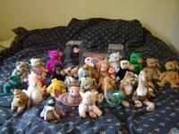 Beanie Babies for sale. We have a total of 31. 3 are in