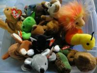 13 Beanie Babies with tags - new