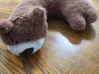Bear Neck PillowBrown with a white faceLocation:
